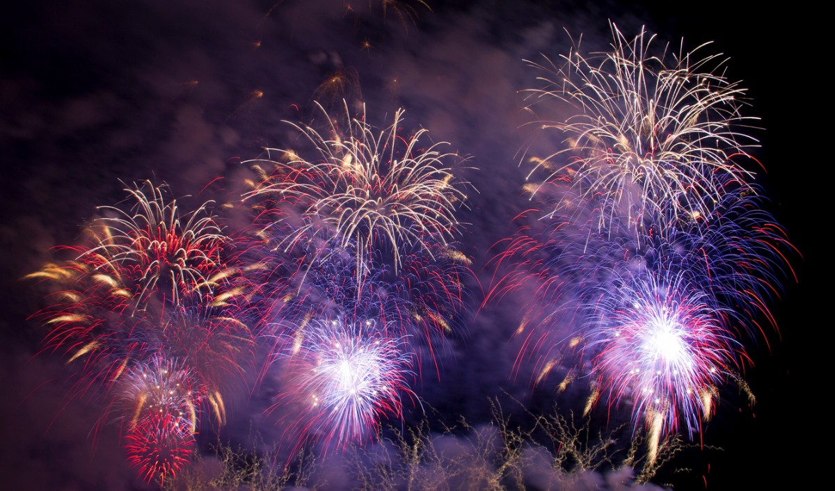 July 4th Fireworks Helicopter Tours